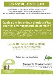 débat eco-quartier Camelinat MDE